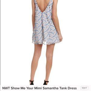 NWT SMYMM Samantha Tank Dress